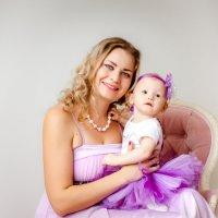 Счастье быть мамой :: Алла Мещерякова
