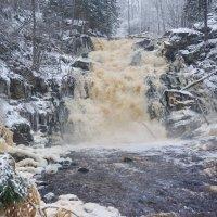 водопад Белые мосты :: Ольга Cоломатина