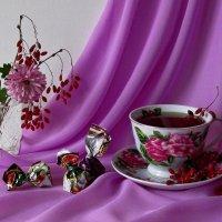 Чай с барбарисом :: Татьяна Смоляниченко