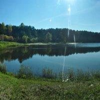 Голубое озеро - осень :: Дмитрий Климович