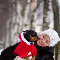 С маленьким Дедом Морозом!) :: Лариса Сафонова