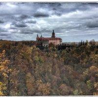 Вид на замок Ксенз со смотровой площадки :: Николай Милоградский