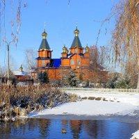 О деревянной маленькой церквушке.... :: Валентина ツ ღ✿ღ