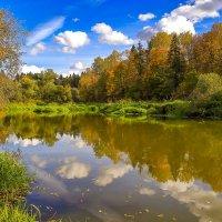 Река осенью :: Глеб Баринов