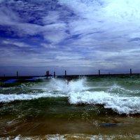Надвигается ураган.Остов Ко Лан.Таиланд 2016 год :: Ivan G