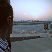 Встреча рассвета в международном аэропорте Бахрейна! :: Ivan G