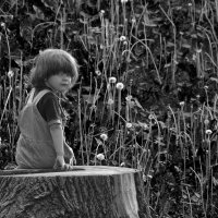 Дочкино лето :: Олег Синица