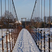 подвесной мост :: Максим Ершов