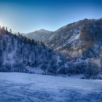 Закат в горах. :: Валерий Медведев
