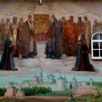 фрески. центральный вход в лавру. Сергиев Посад (Загорск) :: elena manas
