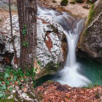 Тисовый водопад. :: Mihail Mihaylov