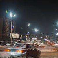 Зимний,вечерний город. :: Виктор Евстратов