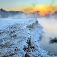 На грани холода.... :: Андрей Войцехов