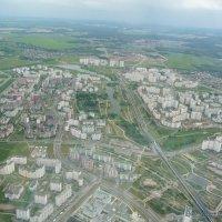 Вид сверху на Южное Бутово :: Alexey YakovLev