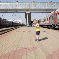 НУ и где тут поезд на МОРЕ? :: Виктор Филиппов