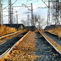 Старенькие рельсы трамвая №36. :: Владимир Ильич Батарин