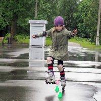 Юная слаломистка Сабрина :: Oxana Krepchuk