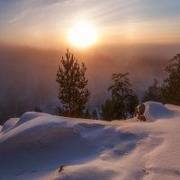 Закат в тумане :: Дамир Белоколенко