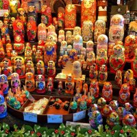 Русские матрёшки :: Nina Yudicheva