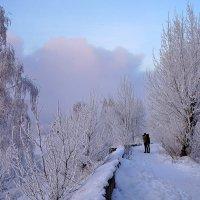 Любуясь закатом над рекой :: Екатерина Торганская