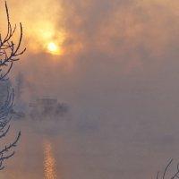 Закат над Енисеем :: Екатерина Торганская
