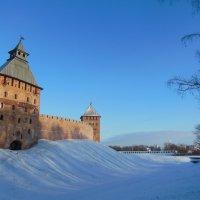 Кремль и дальний вид на Торговую сторону. Великий Новгород. :: Татьяна