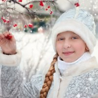 Снегурочка :: Ольга Гребенникова