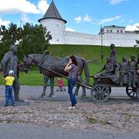 У стен Казанского кремля. :: Наталья