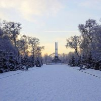 В Калининград ненадолго заглянула зима :: Маргарита Батырева