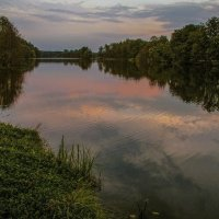 Вечер на реке Дёма :: Аркадий Беляков