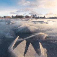 Первый лед на Соловках :: Александр Бобрецов