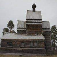 Юксовичи (Родионово). Церковь Георгия Победоносца (Георгиевская церковь), 1493 :: Елена Павлова (Смолова)