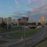 Ранне утро на холмах Москвы :: Ольга Разенкова