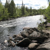 На реке :: KULIBIN 50