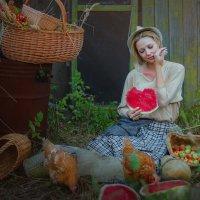 В деревне. :: Ольга Егорова