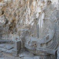Греция Линдос. Знаменитый петроглиф. :: Лариса (Phinikia) Двойникова