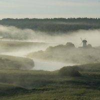 Туман над рекой Сороть :: Вячеслав