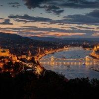 Дмитрий Питенин - Вечерний вид на Дунай :: Фотоконкурс Epson
