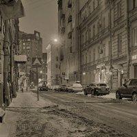 По ночному городу... :: марк