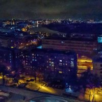 И вот тогда мой серый город окрасился в лиловый цвет... :: Ирина Данилова