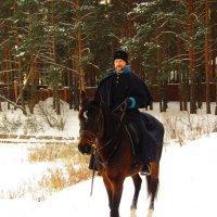 На лихом коне :: Андрей Снегерёв