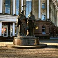 Памятник Кириллу и Мефодию. :: Anatol Livtsov