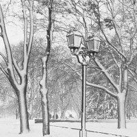 Зимняя графика :: Сергей Тарабара