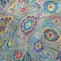 Эбру роспись по воде :: татьяна петракова