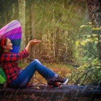 Под дождём) :: Виктория Кузьмичёва