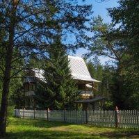 Туристическая деревня Мандроги на реке Свирь. :: Владимир Безбородов