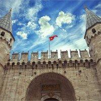 Главные ворота султанского дворца Топкапы в Стамбуле :: Ирина Лепнёва