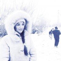 Зимний портрет :: Svetlana Baglai
