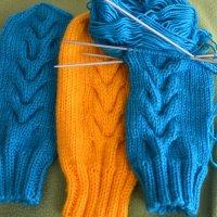 Вязание спицами :: Таня Фиалка