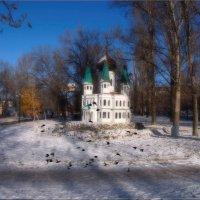 Мини храм на 50 лет Октября. :: Anatol Livtsov